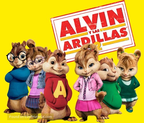 Alvin and the Chipmunks: The Squeakquel - Spanish Movie Poster