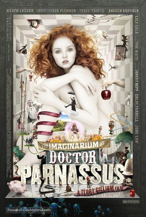 The Imaginarium of Doctor Parnassus - British Movie Poster