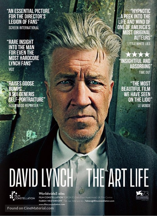 David Lynch The Art Life - Movie Poster