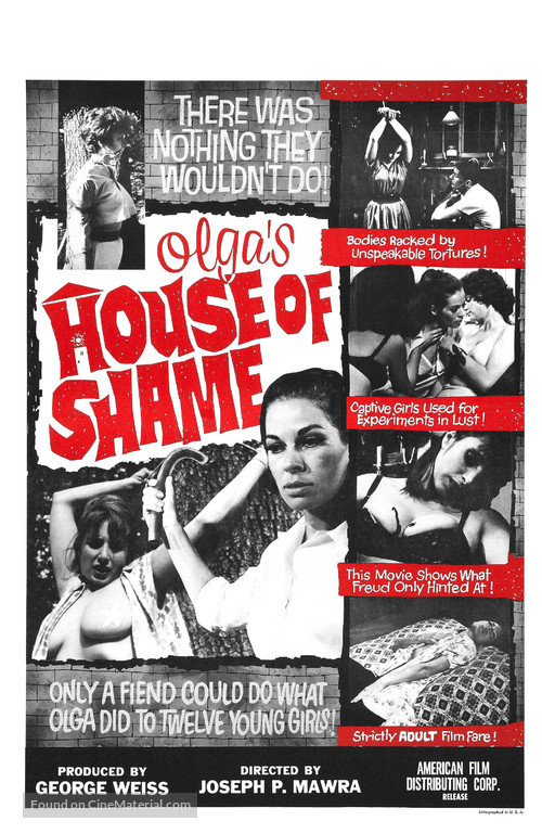 Olga's House of Shame - Movie Poster