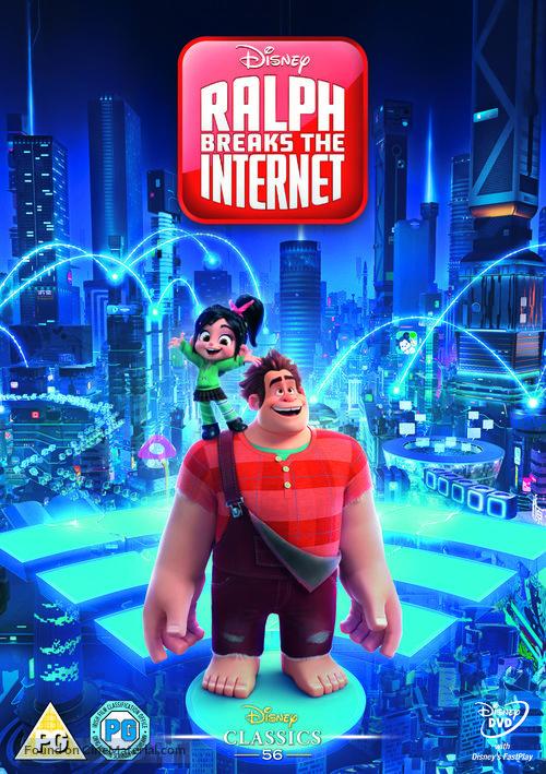 Ralph Breaks the Internet - British DVD cover