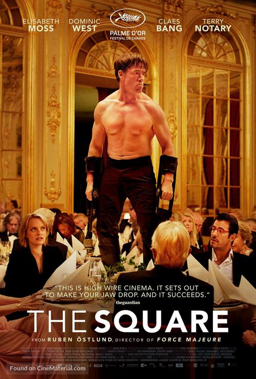 The Square - Swedish Movie Poster