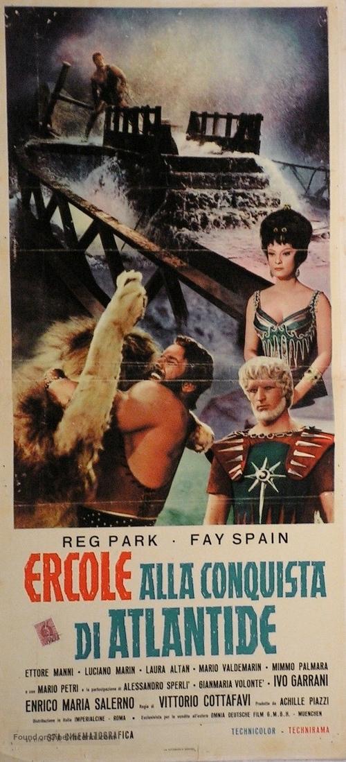 Ercole alla conquista di Atlantide - Italian Movie Poster