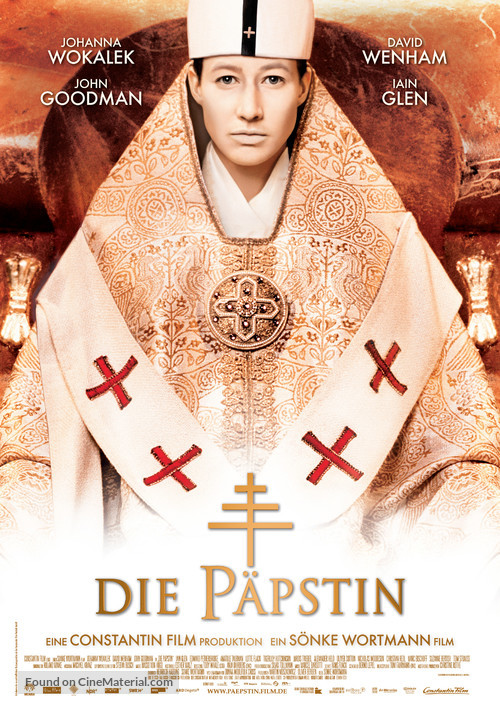 Die Päpstin - German Movie Poster