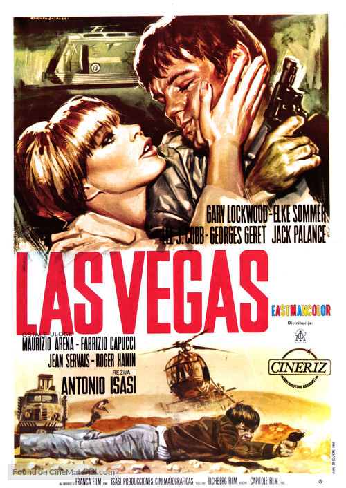 Las Vegas, 500 millones - Yugoslav Movie Poster