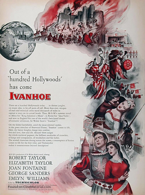 Ivanhoe - Movie Poster