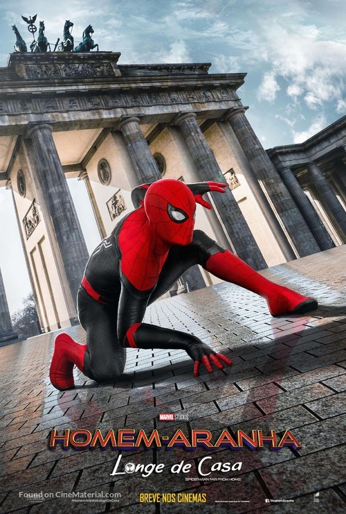 Spider-Man: Far From Home - Brazilian Movie Poster