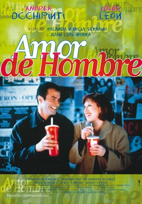 Amor de hombre - Italian Movie Poster