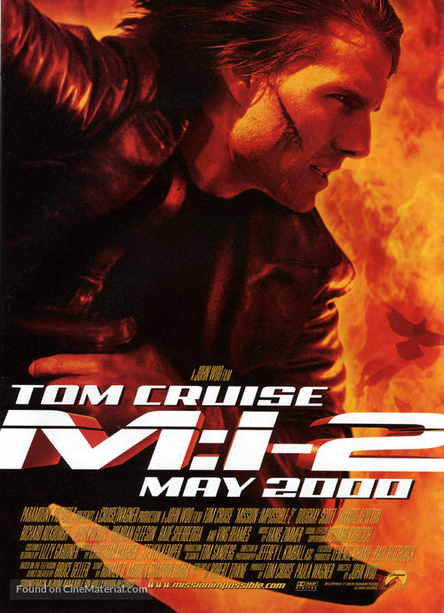 Mission: Impossible II - Movie Poster