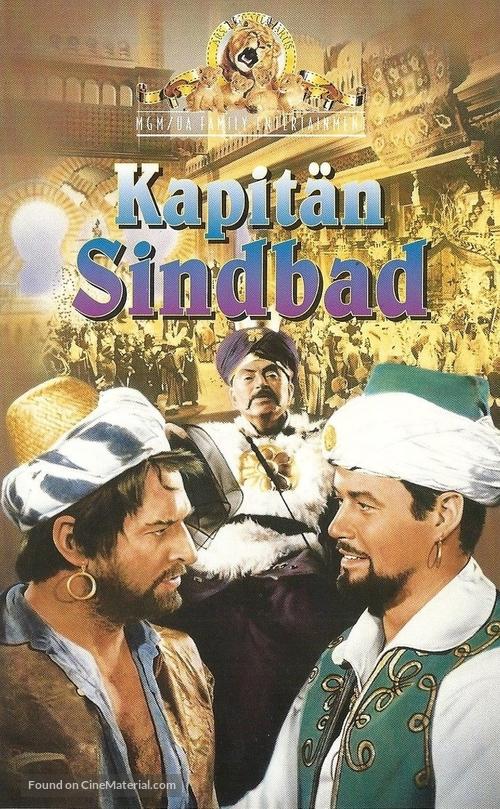 Captain Sindbad - German VHS movie cover