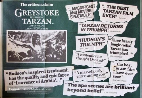 Greystoke - British Movie Poster