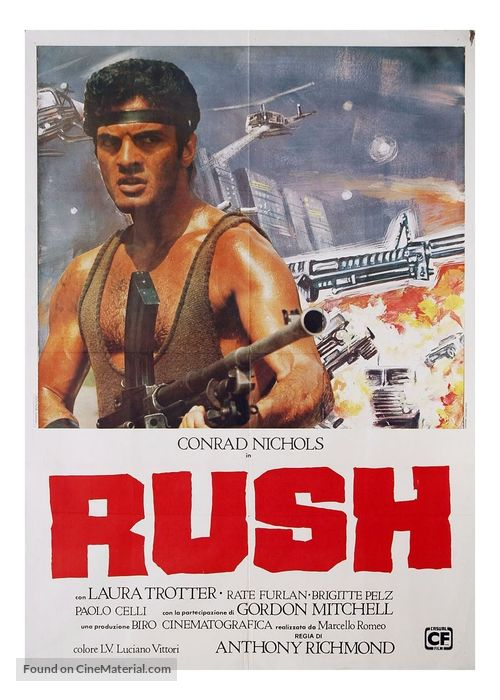 Rush - Italian Movie Poster