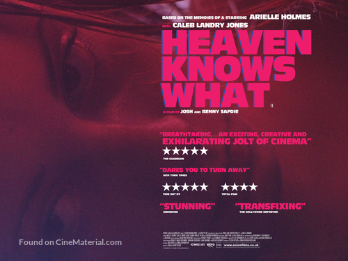 Heaven Knows What - British Movie Poster