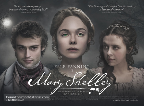 Mary Shelley - British Movie Poster