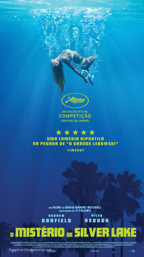 Under the Silver Lake - Portuguese Movie Poster