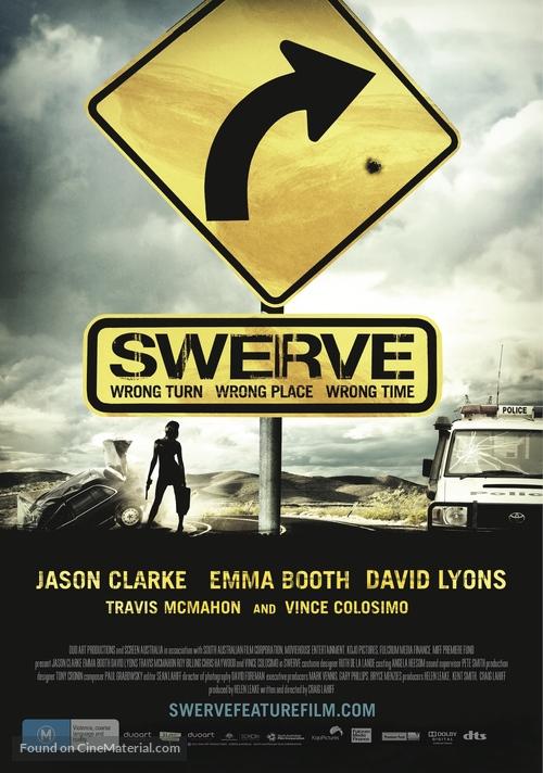 Swerve - Australian Movie Poster