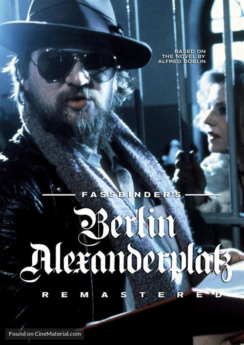 """Berlin Alexanderplatz"" - DVD movie cover"