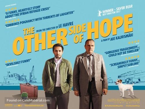 Toivon tuolla puolen - British Movie Poster