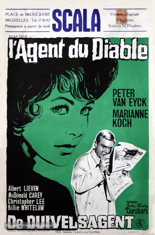 The Devil's Agent - Belgian Movie Poster