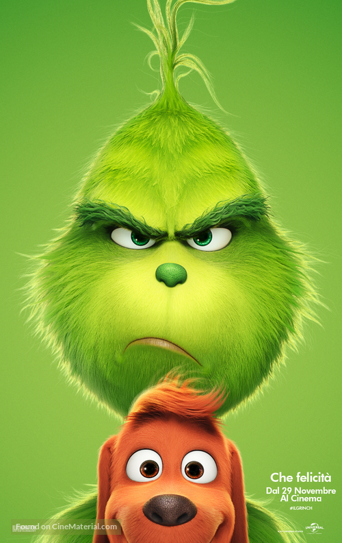 The Grinch - Italian Movie Poster