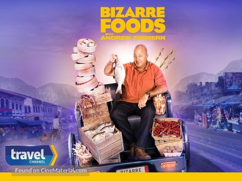 """Bizarre Foods with Andrew Zimmern"" - Video on demand cover"