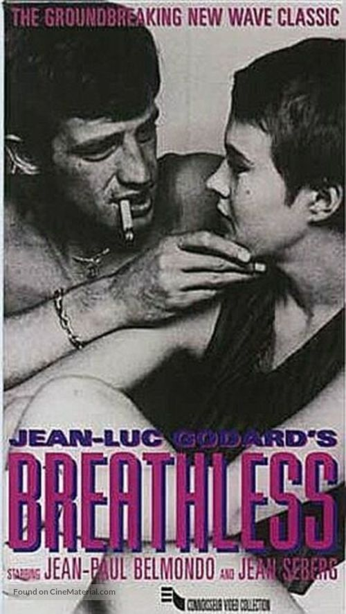 À bout de souffle - VHS movie cover