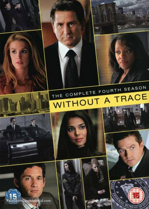 """""""Without a Trace"""" - British DVD cover"""
