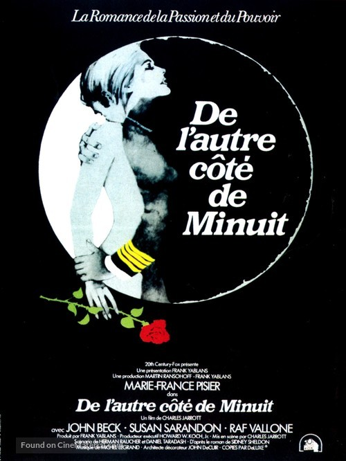 The Other Side of Midnight - French Movie Poster