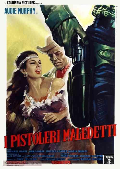 Arizona Raiders - Italian Movie Poster
