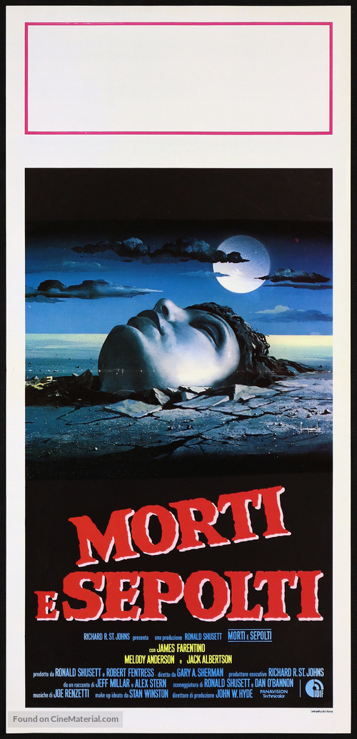 Dead & Buried - Italian Movie Poster