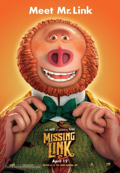 Missing Link - Canadian Movie Poster