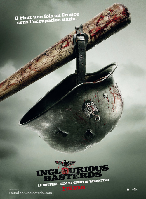 Inglourious Basterds - French Movie Poster