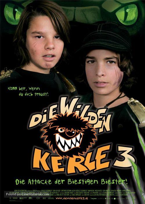 Die wilden Kerle 3 - German Movie Poster
