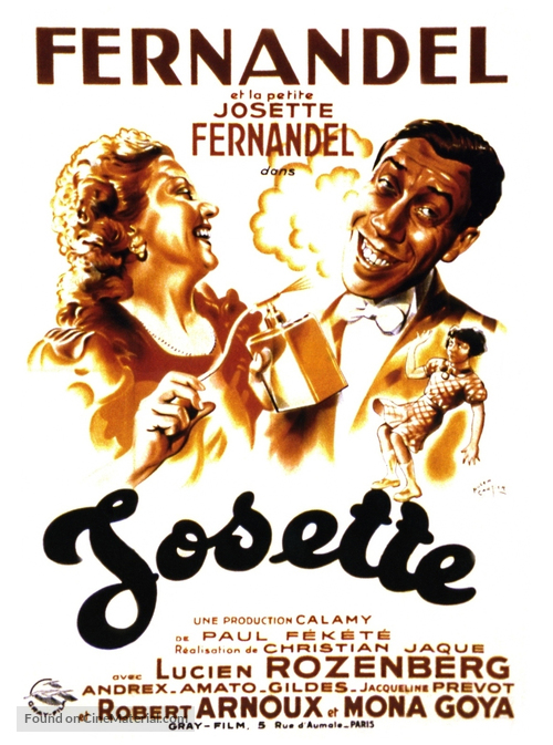 Josette - French Movie Poster