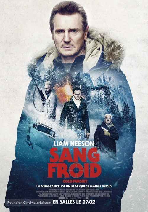 Cold Pursuit - Belgian Movie Poster