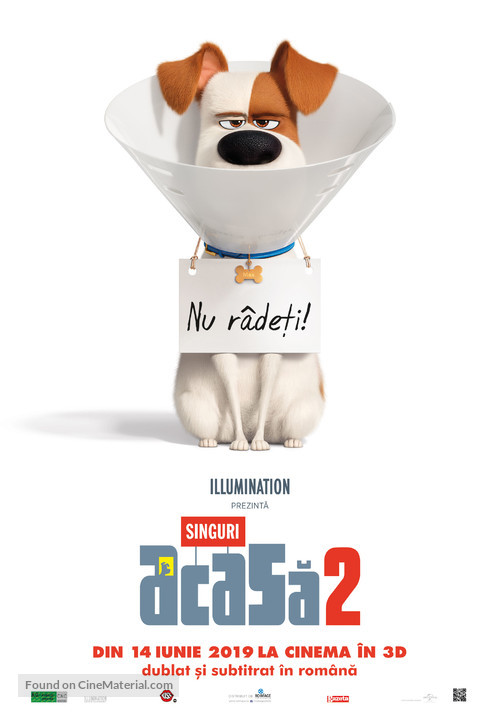 The Secret Life of Pets 2 - Romanian Movie Poster