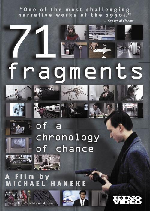 71 Fragmente einer Chronologie des Zufalls - Movie Poster