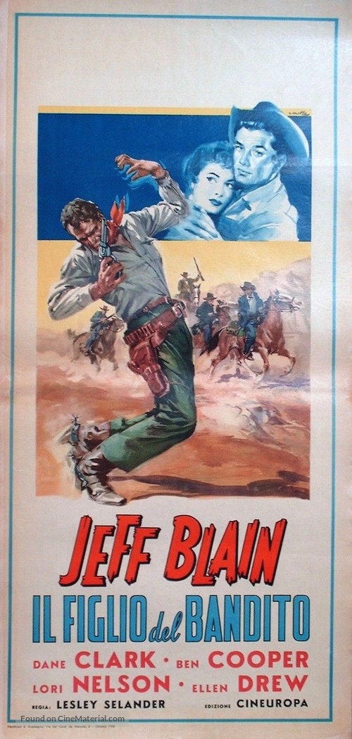 Outlaw's Son - Italian Movie Poster