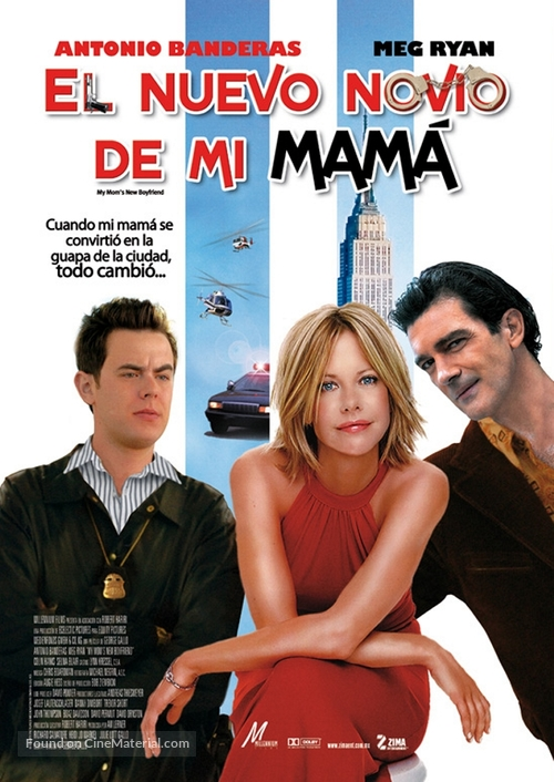 My Mom's New Boyfriend - Mexican Movie Poster