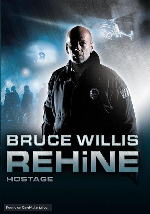Hostage - Turkish DVD cover