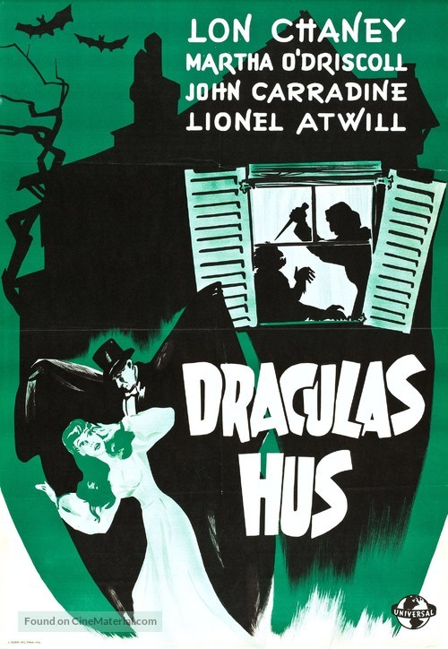House of Dracula - Swedish Movie Poster