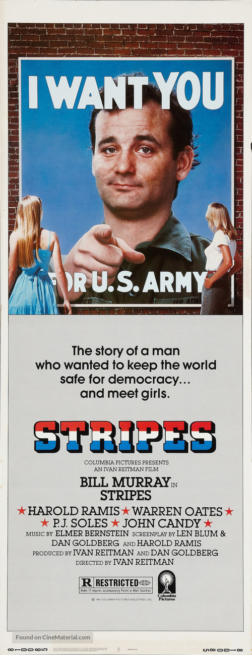 Stripes - Movie Poster