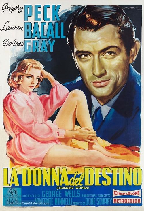 Designing Woman - Italian Movie Poster