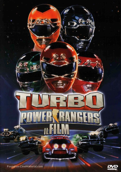 Turbo: A Power Rangers Movie - Italian DVD cover