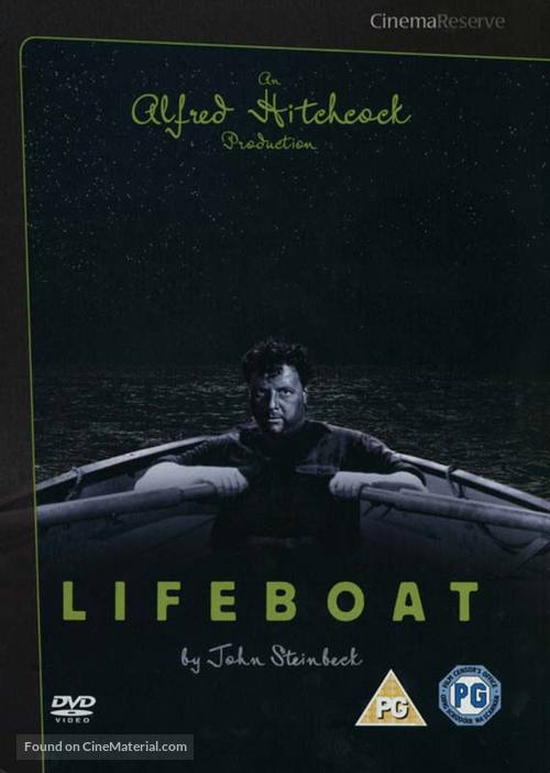 Lifeboat - British DVD movie cover