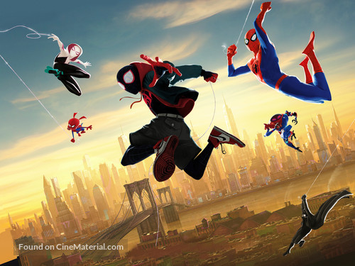 Spider-Man: Into the Spider-Verse - Key art