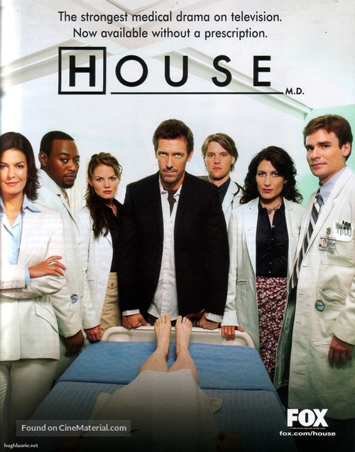 """House M.D."" - Movie Poster"