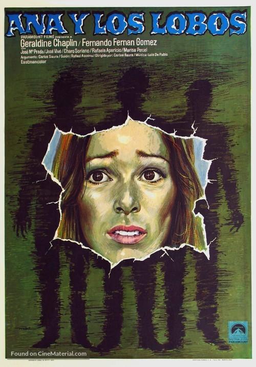 Ana y los lobos - Spanish Theatrical poster