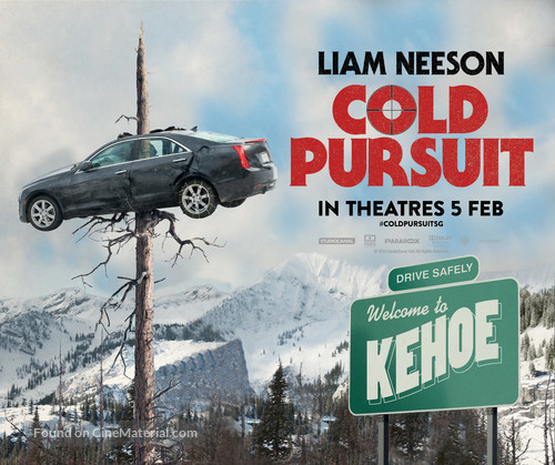 ผลการค้นหารูปภาพสำหรับ cold pursuit POSTER
