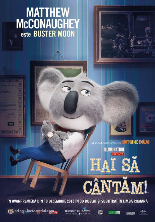 Sing - Romanian Movie Poster